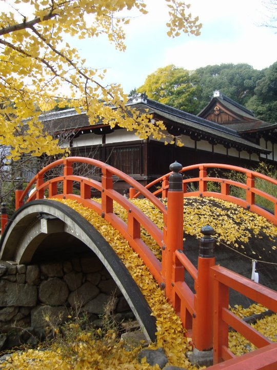 Shimogamo Shrine Bridge