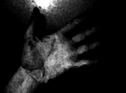 Hand - Photograph taken by me, Eve Redwater
